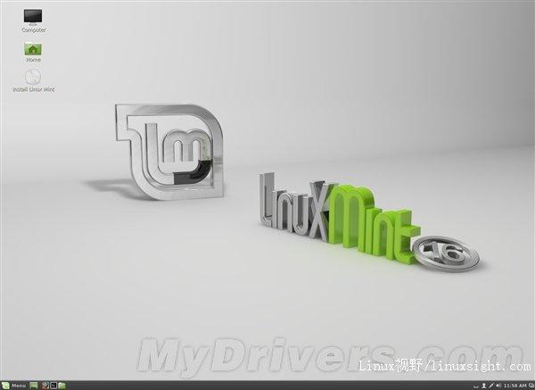Linux Mint 16正式版发布 免费下载