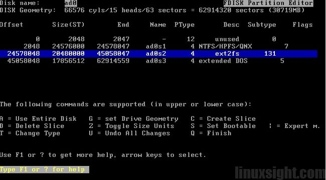 FreeBSD安装图解